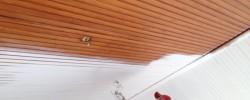 Spuiten Houten Plafond Wit